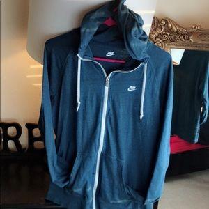 Nike full zip hoodie hooded XL jacket